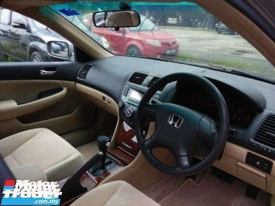 2005 HONDA ACCORD 2.0 VTi (A) E SPEC Low Mileage 1 Owner