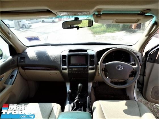 2005 TOYOTA LAND CRUISER  3.0 PRADO TURBO (A) 4WD