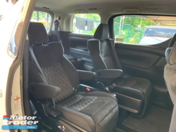 2018 TOYOTA VELLFIRE 2.5 Z precrash power boot 7 seaters facelift surround camera unregistered