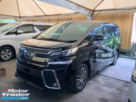 2015 TOYOTA VELLFIRE 2.5 ZG sunroof JBL theatre system pilot leather seats surround camera power boot unregistered