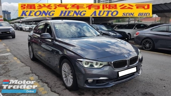 2017 BMW 3 SERIES 318i F30 LUXURY (A) REG 2017, CAREFUL OWNER, HAVE FREE SERVICE UNTIL 100K KM, MILEAGE DONE 46K KM, FULL SERVICE RECORD, UNDER BMW WARRANTY UNTIL MARCH 2022