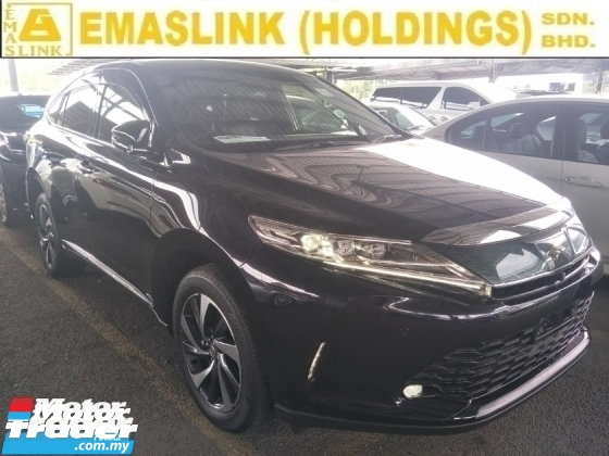 2018 TOYOTA HARRIER 2.0 TURBO NFL JBL SURROUND SOUND SYSTEM POWER BOOT PRE CRASH STOP SYSTEM
