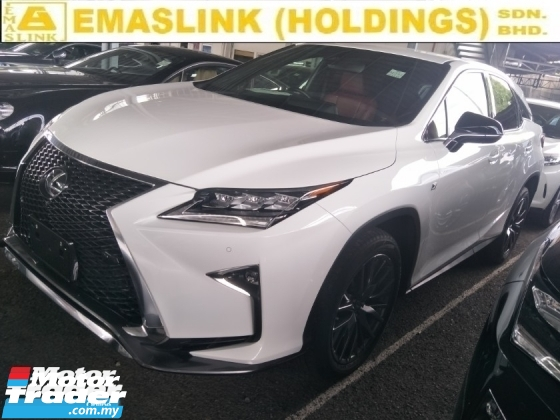 2017 LEXUS RX 2.0 TURBO ORIGINAL 360 CAMERA POWER BOOT SPORT MODE SIDE MIRROR SENSOR HEAPUP DISPALY