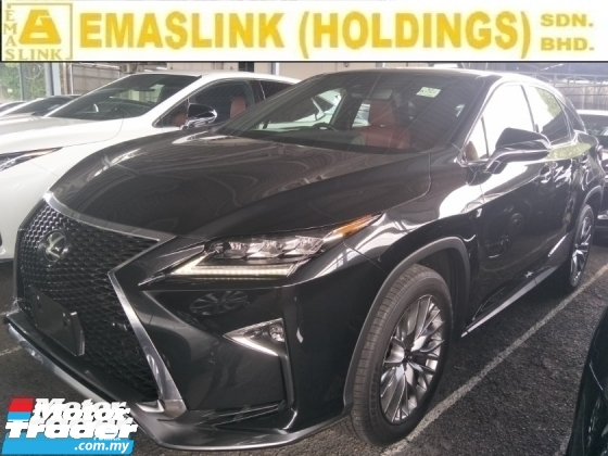 2017 LEXUS RX 2.0 turbo 235 hp sport mode power boot reverse camera memory leather seats