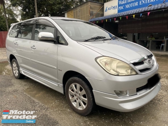 2009 TOYOTA INNOVA 2.0G(A)AEROBODYKIT DVD PLAYER