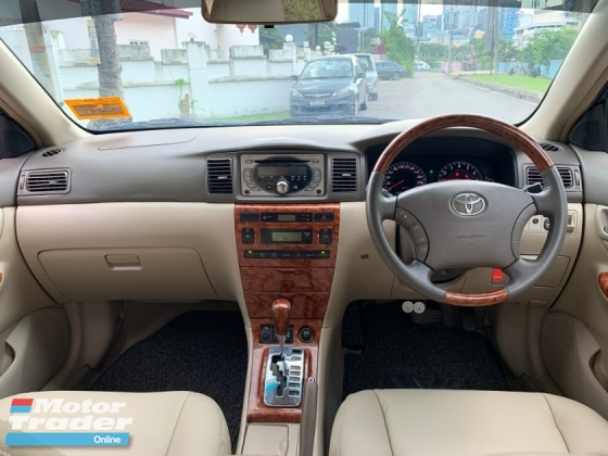 2007 TOYOTA ALTIS 1.8 G (A) LEATHER SEAT CONFIRM MAKE TRUE YEAR