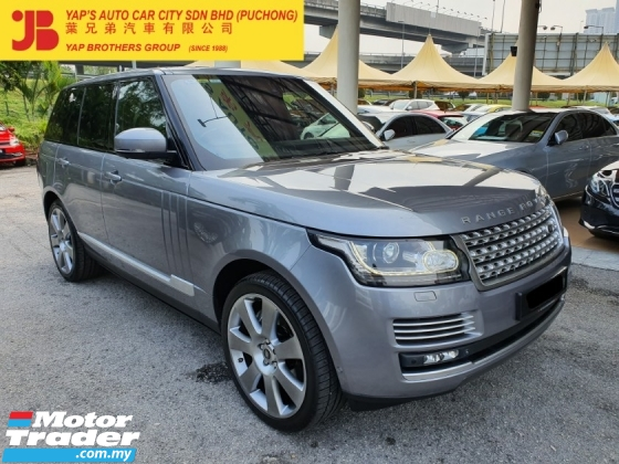 2013 LAND ROVER RANGE ROVER AUTOBIOGRAPHY VOUGE 5.0 SUPERCHARGED