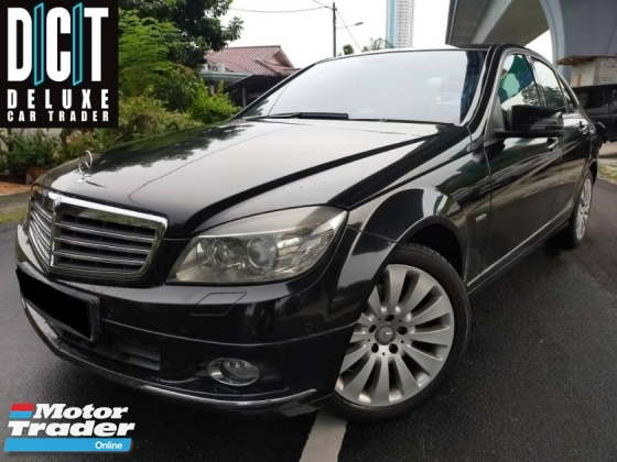 2012 MERCEDES-BENZ C-CLASS C200 1.8 (A) LOCAL SPEC FACELIFT MODEL ACCIDENT FREE LOW MILLAGE ONE CAREFUL OWNER
