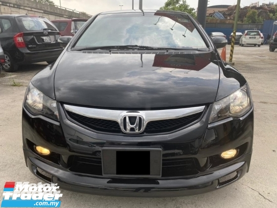 2011 HONDA CIVIC 2.0 i-VTEC FD - END YEAR SALE - WARRANTY 1 YEAR - NEW FACELIFT - FULL BODYKIT - PADDLE SHIFT - LEATHER SEAT - LIKE NEW - NICE PLATE NO