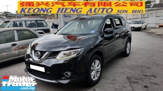 2015 NISSAN X-TRAIL 2.0L CVT 2WD (A) REG 2015, ONE CAREFUL OWNER, FULL SERVICE RECORD, LOW MILEAGE DONE 65K KM, LEATHER SEAT, 17\