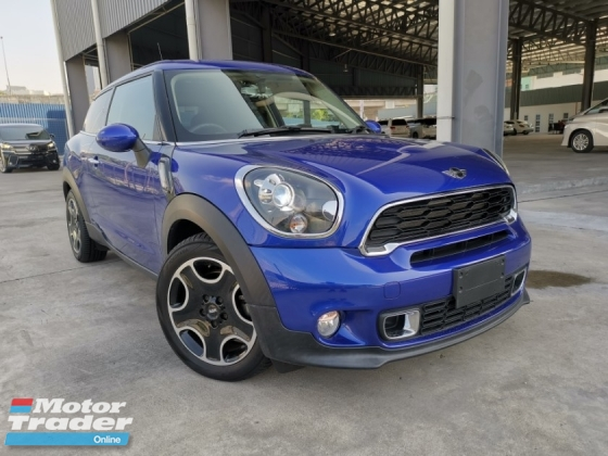 2014 MINI PACEMAN  1.6 TURBO SPECIAL BLUE COLOR OFFER UNREG