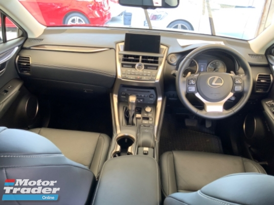 2014 LEXUS NX 2.0 VL power boot back camera electric seats unregistered