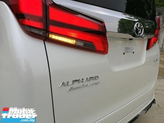 2018 TOYOTA ALPHARD 3.5 JBL V6 EL HUGE SPEC UNREG 2018