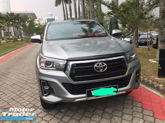2018 TOYOTA HILUX Double Cab 2.8 Limited Edition