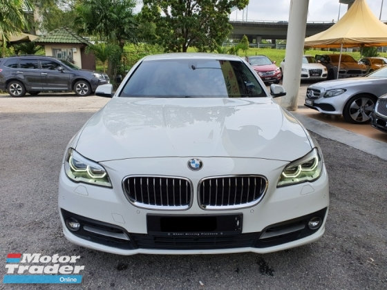 2014 BMW 5 SERIES 520I FACELIFT (A) 56K KM ONLY , Full Service Record