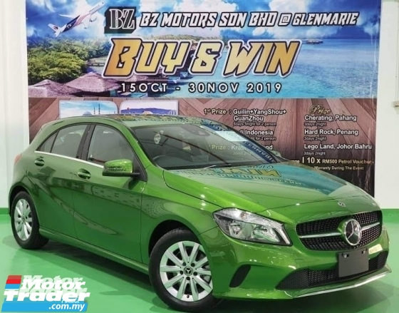 2018 MERCEDES-BENZ A-CLASS 2018 MERCEDES BENZ A180 SE 1.6 TURBO NEW UNREG JAPAN SPEC CAR SELLING PRICE ONLY RM 155,000.00 NEGO