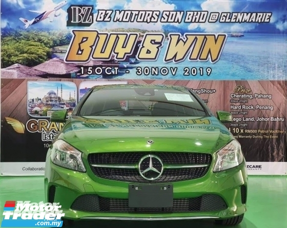 2018 MERCEDES-BENZ A-CLASS 2018 MERCEDES BENZ A180 SE 1.6 TURBO NEW UNREG JAPAN SPEC CAR SELLING PRICE ONLY RM 148000.00 NEGO