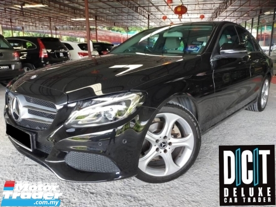 2017 MERCEDES-BENZ C-CLASS C200 LIMITED W205A NAVI LOCAL 40K KM F/SERVICE C&C WARRANTY