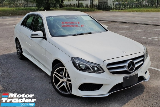 2015 MERCEDES-BENZ E-CLASS 2015 MERCEDES BENZ E250 2.0 AMG NEW FACELIFT UNREG JAPAN SPEC CAR SELLING PRICE ONLY RM 189,000.00