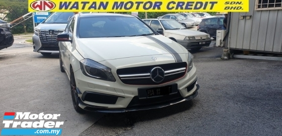 2014 MERCEDES-BENZ A45  EDITION 1 AMG LOCAL CBU SPEC FULL SERVICE RECORD NO HIDDEN CHARGES