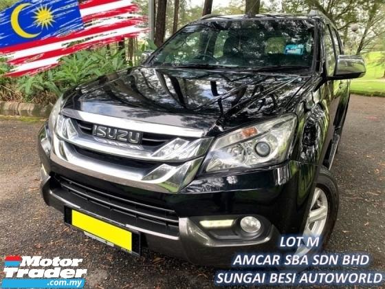 2016 ISUZU MU-X 2.5 4X4 (A) VGS TURBODIESEL SUVs 1 OWN