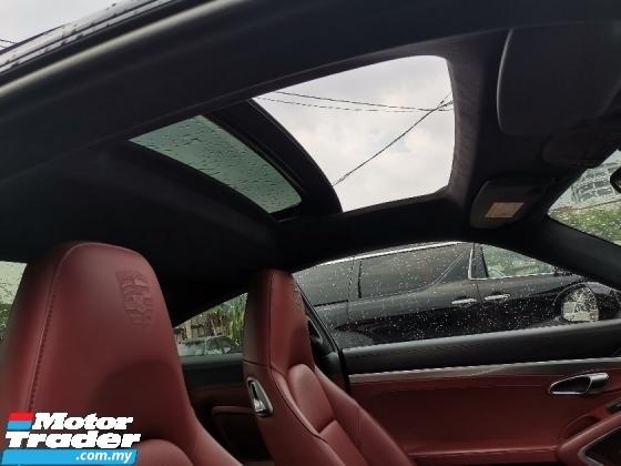 2016 PORSCHE CARRERA 911 3.0 4 FACELIFT TURBO COUPE SUNROOF/RED INTERIOR UNREG