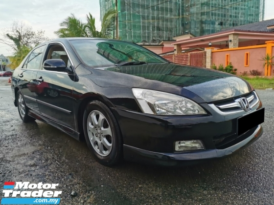 2006 HONDA ACCORD 2.4 VTi (A) BLKLIS CCRIS CAN LOAN