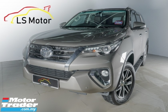 2017 TOYOTA FORTUNER 2.7 SRZ (A) UNDER WARRANTY