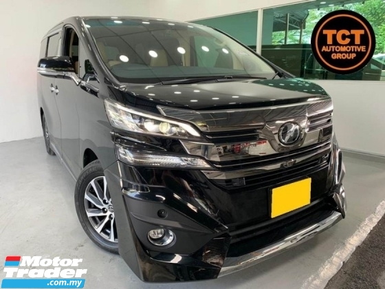2015 TOYOTA VELLFIRE 3.5 (A) VL Full Modelista Body Kit JBL Pre Crash Sunroof Moonroof Free Warranty