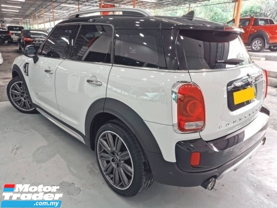 2017 MINI Countryman Cooper S 2.0 (A) Local 24k Mileage Under MINI Warranty until 2021 TwinPower Turbo