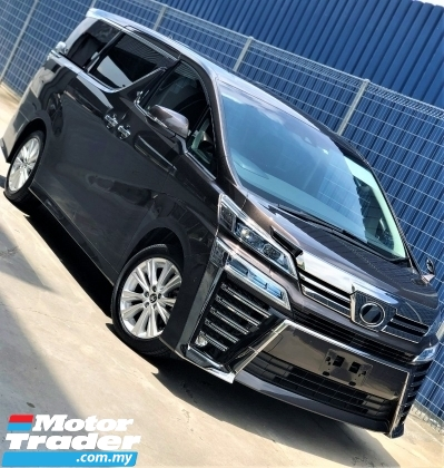 2018 TOYOTA VELLFIRE 2.5 Z Edition (A) NEW FACELIFT + JBL +UNREGISTERED  PREMIUM JAPAN SELECTION SPEC + RAREST BROWN METALLIC COLOR