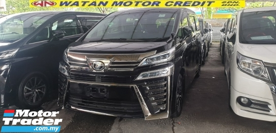 2018 TOYOTA VELLFIRE 2.5ZG Edition 3 LED NEW CAR CONDITION NO HIDDEN CHARGES