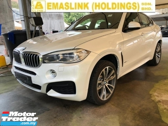 2015 BMW X6 40D 3.0cc TWIN POWER TURBO SUNROOF POWER BOOT SPORT MODE PADDLE SHIFT FREE WARRANTY