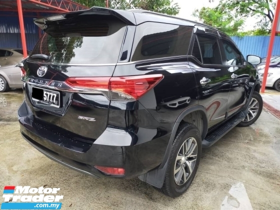 2018 TOYOTA FORTUNER 2.7 SRZ 4X4 PETROL (A) UNDER WARRANTY UNTIL 2023 TRUE YEAR MADE 2018 FULL SERVICE RECORD PUSH START BUTTON