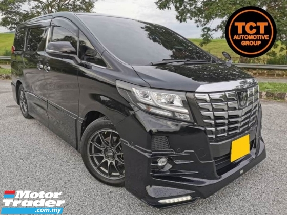 2016 TOYOTA ALPHARD 2.5 SC (A) TRD JBL 360 Degree Cam Pilot Seats Power Boot MPV