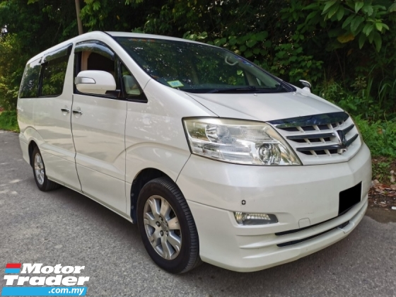 2005 TOYOTA ALPHARD 3.0 MZG (A) FULL SPEC, 7 SEATER
