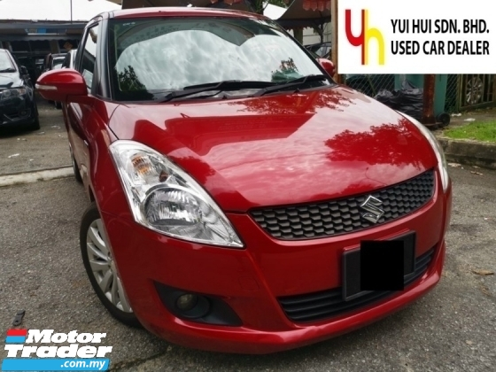 2014 SUZUKI SWIFT 2014 Suzuki SWIFT 1.4 GLX (A) PUSH START KEYLESS 1 LADY OWNER