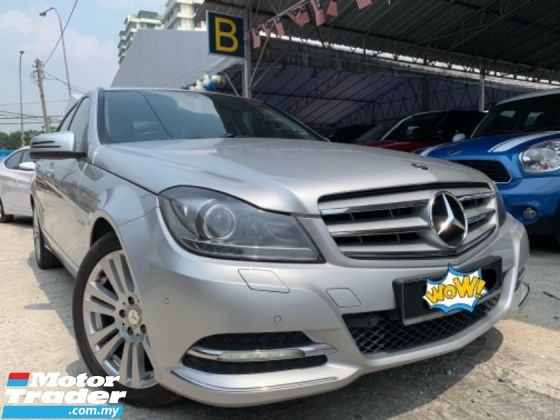 2012 MERCEDES-BENZ C-CLASS C200 1.8 (A) Avantgarde Facelift All Service by Benz