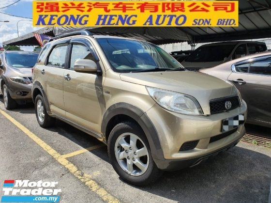 2009 TOYOTA RUSH 1.5G (AT) One Owner