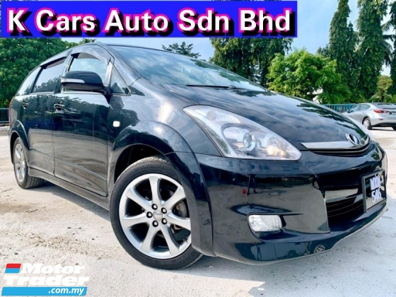 2008 TOYOTA WISH 2.0 Facelift Original Condition Original Paint Never Accident Before Worth Buy