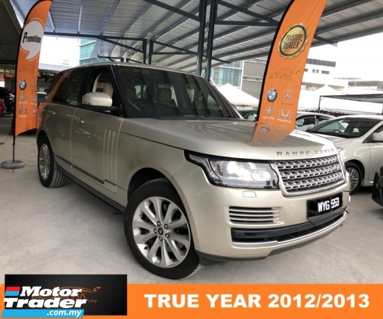 2012 LAND ROVER RANGE ROVER VOGUE 4.4 SDV8 (A) CBU LOCAL