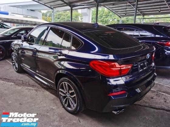 2016 BMW X4 BMW X4 2.0 XDRIVE28I M-SPORT TWIN POWER TURBO ALPINE REAR ENTERTAINMENT 2016 JAPAN UNREG