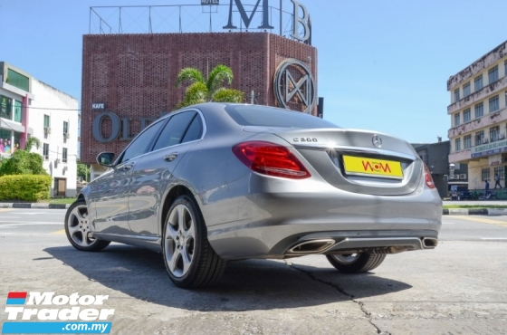 2016 MERCEDES-BENZ C-CLASS C200 Full Service Record Under Warranty