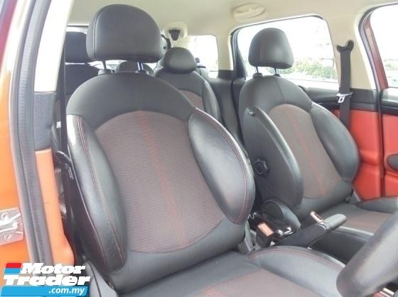 2012 MINI Countryman  1.6 Cooper S ALL4 PaddleShift Facelift LikeNEW