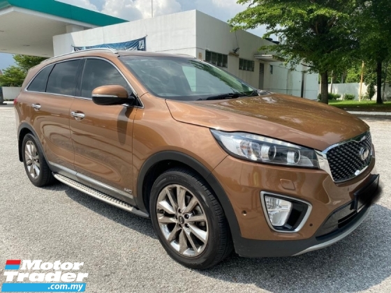 2019 KIA SORENTO 2.2 DIESEL (A)STILL WARRANTY BY KIA