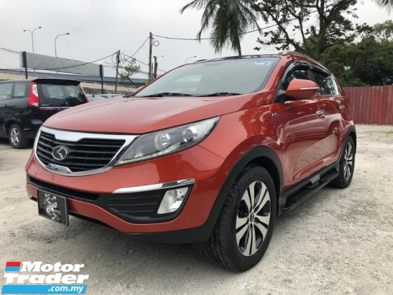 2013 KIA SPORTAGE 2.0 DOHC SUNROOF SPECIAL EDITION FACELIFT TIPTOP ONE OWNER