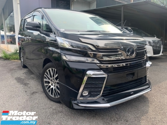 2015 TOYOTA VELLFIRE 2.5 ZG SUNRROF PRE CRASH ALPINE PLAYER PILOT SEATS 3 POWER DOOR UNREG