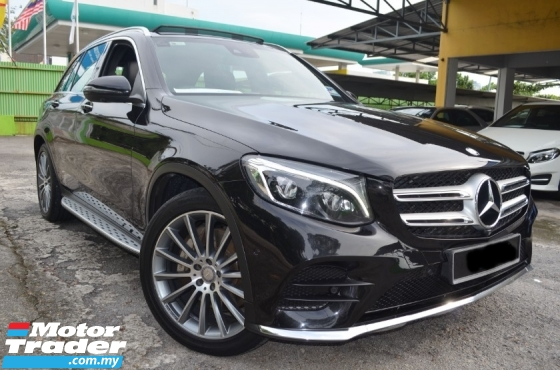 2016 MERCEDES-BENZ GLC  GLC250 (A) AMG UNDER WARRANTY BY MERCEDES BENZ