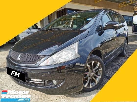 2010 MITSUBISHI GRANDIS 2.4 (A) F/LEATHER SEAT, LOW KM