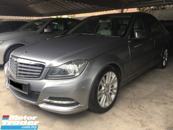 2013 MERCEDES-BENZ C-CLASS C200 CKD Facelift Actual Year